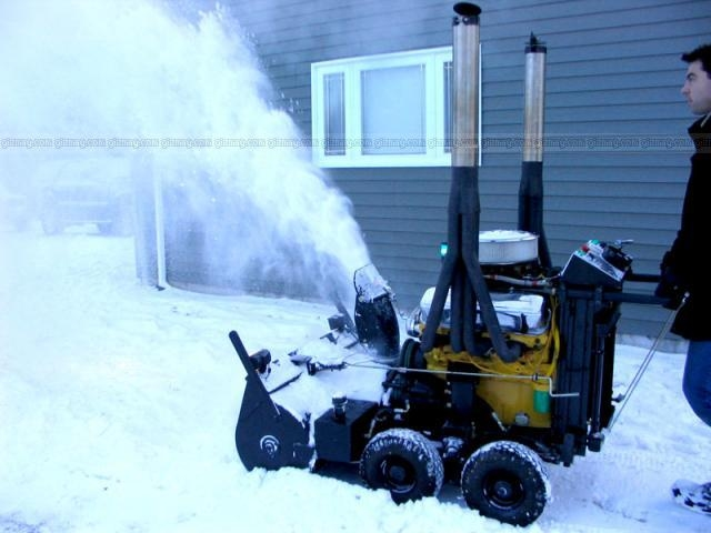 power snow blower